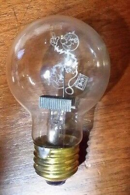 RARE 1940'S REDDY KILOWATT AEROLUX FIGURAL FILAMENT LIGHT BULB LAMP