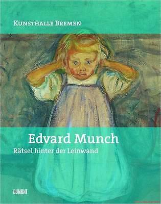 Fachbuch Edvard Munch, Rätsel hinter der Leinwand, STARK REDUZIERT, STATT 29 €