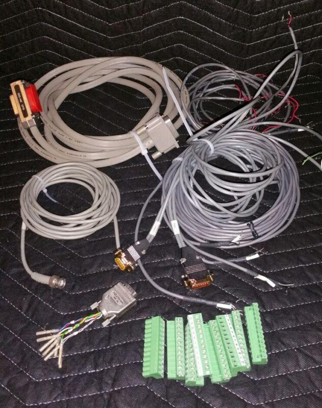 Lot of HP Agilent Cables & Connectors GPIB, Pal, Valve Controller, 12 pin I/O