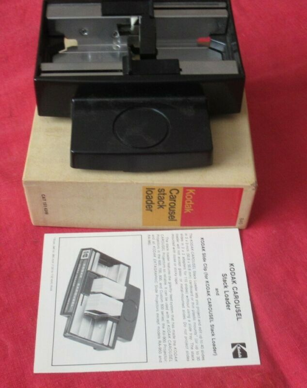 Kodak Stack Loader B40 for Kodak Slide Projector #151-4249 Complete Original Box