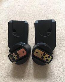 Original Slightly Used quinny zapp car seat adaptors