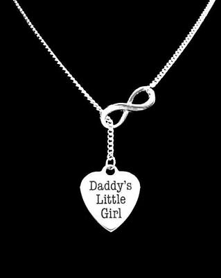 Daddy's Little Girl Necklace Lariat Valentine  Gift For Her](Necklaces For Little Girls)