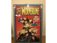 Wolverine signed by Stan Lee