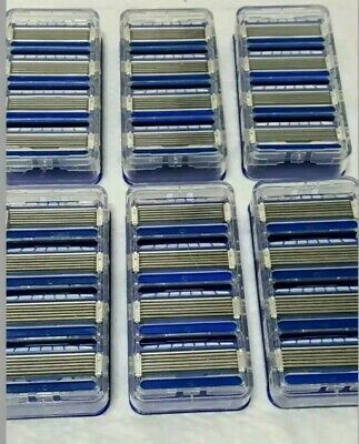 Schick Hydro 5 Refill Razor Blade Cartridge Lot of 24 Bulk New Authentic (5 Blade Razor Cartridge)
