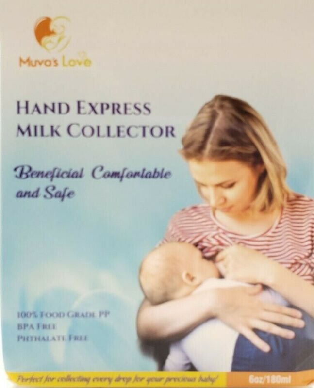 Portable Breast Milk Collector for Hand Expression by Muva's Love Food