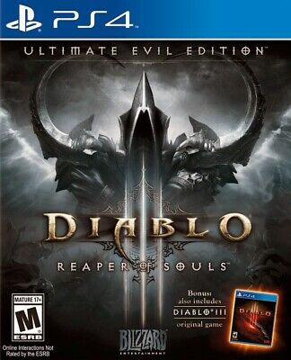 Diablo III 3 Ps4 for sale  Shipping to Nigeria
