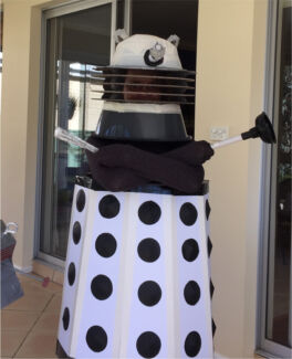 Dalek fancy dress costume