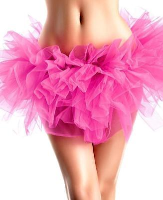 Hot Pink Petticoat (Be Wicked Hot Pink Petticoat BW1262 One Size New in Package Guaranteed Discreet )