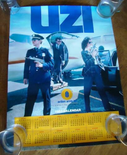 UZI Action Arms POSTER  Very RARE     OIF OEF  SOCOM