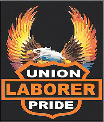 Hard Hat Stickers Lunch Box Stickers Union Laborer Cl-11