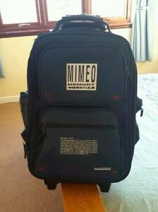 Superb MIMEO Bakcpack with rollers extendable handle Brighton Bayside Area Preview