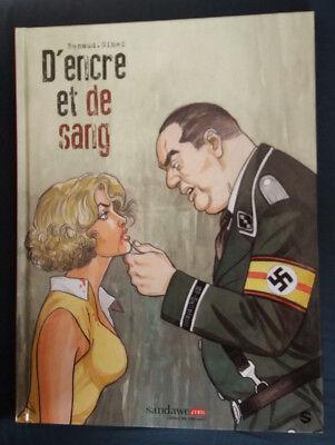 D'Encre et de Sang 2 EO Renaud Gihef Sandawe Guerre Bruxelles Degrelle Le Soir