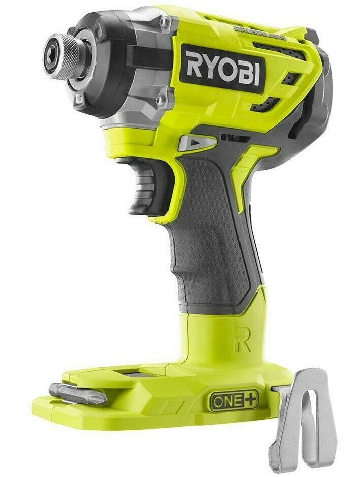 "RYOBI P238 ONE+ 18V 1/4"" 1/4-in 3-SPEED BRUSHLESS HEX IMPA"