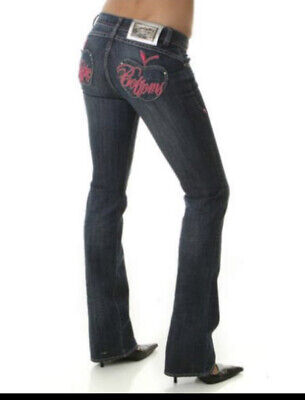 Apple Bottom Ladies Jeans Size 14 Uk/ 11/12 US/ IL 33 Inches