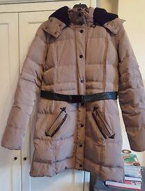 MANGO Suit duck feather coat - Size L