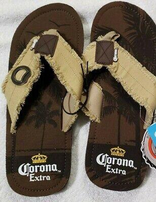 Corona Beer Sandle Flip Flops With Bottle Opener Men's Large Beer Flip Flops Sandal