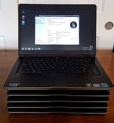 Lot Of 6 Dell Latitude E6430u Laptops I5 3437U 1 9Ghz 4Gb Ram 128Gb Ssd Win7 Pro