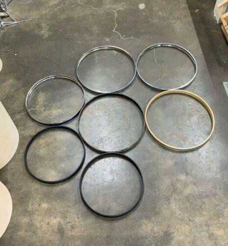 Assorted Bass Drum Hoops Bundle