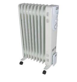 3x2000w oil filled radiators