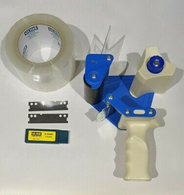 Uline Side Loader Tape Dispensers 1 Roll Heavy Duty Industrial Tape 2 Blades