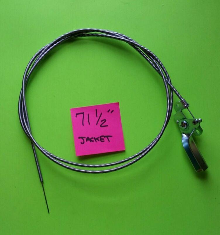 """Throttle Lever & Cable for Troy-Bilt Horse Tiller (GW-9015, GW-9240 ) LONG 71.5"""""""