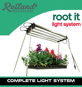 root it t5 grow light system 4 tubes strip and reflector. Black Bedroom Furniture Sets. Home Design Ideas
