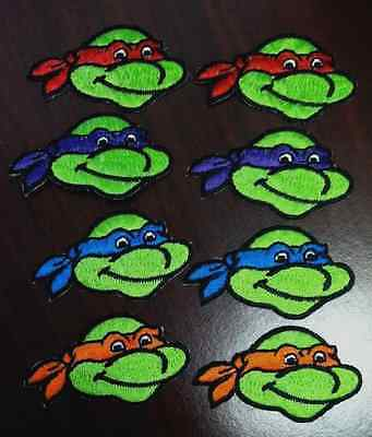 Teenage Mutant Ninja Turtle patches iron on sew on patches  2 3/8