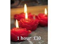 1 hour £30 💝3 new ladies full body massage