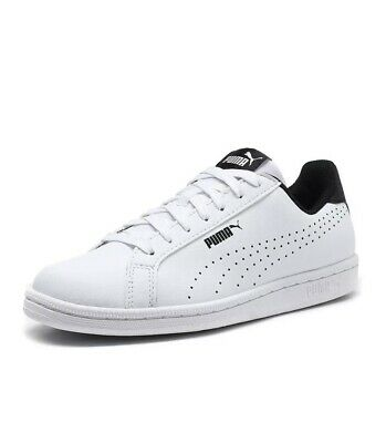 Men's Puma Smash Perf Classic White Leather Trainers RRP £49.99 Sizes UK 8 - 12