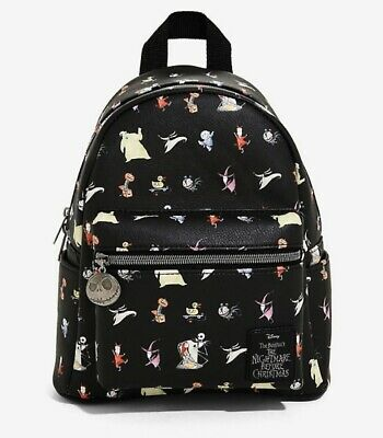 DISNEY Loungefly Nightmare Before Christmas Jack Skellington Mini Backpack for sale  Shipping to United Kingdom