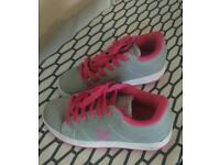 Heelys type wheeled shoes