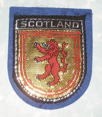 "Scotland Patch  - 2 1/4"" x 2 3/4"""