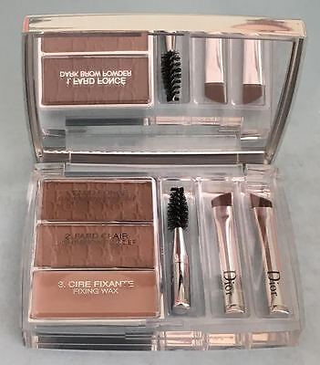 DIOR ALL-IN-BROW 3D 002 BLOND BACKSTAGE PROS LONG WEAR BROW CONTOUR KIT NEW
