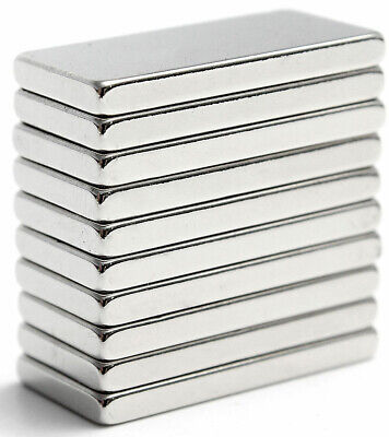 10pcs Strong Magnets Block Square Neodymium Small Magnet 20x10x2mm Us