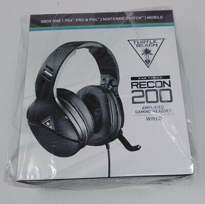 Turtle Beach Ear Force Recon 200 Gaming Headset Wired Black