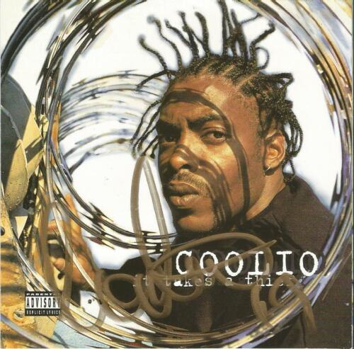 Coolio Autographed It Takes A Thief CD