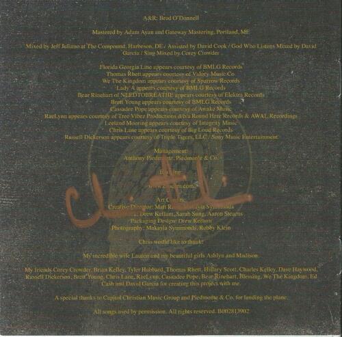 Chris Tomlin Autographed Chris Tomlin & Friends CD