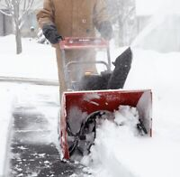 Snow blower (for hire)