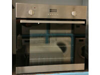 a634 stainless steel beko single electric oven comes with warranty can be delivered or collected