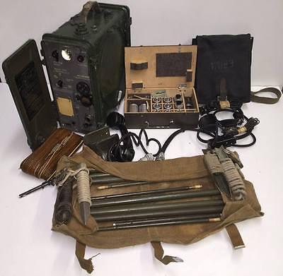 Polish Cold War Military Radio mobile set R-105 D
