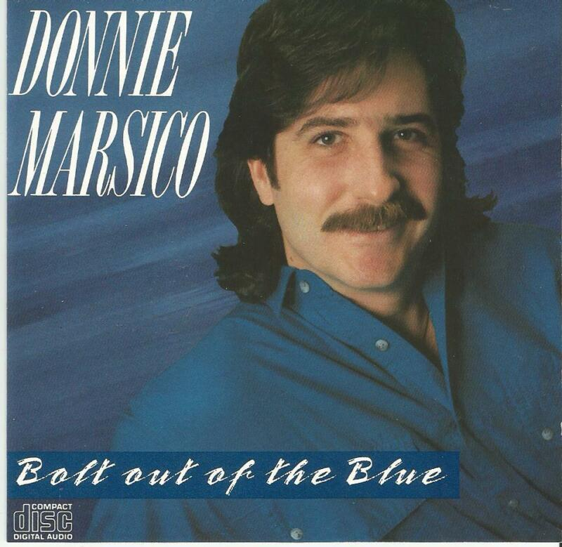 Donnie Marsico Bolt Out Of The Blue CD