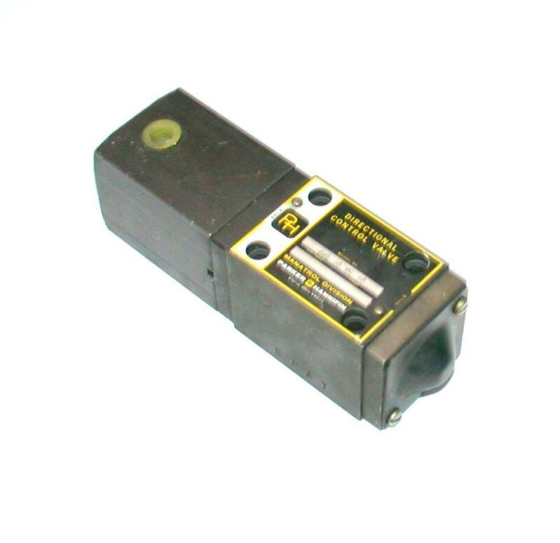 Parker Hannifin  4MD 20 WB 10  Directional Control Hydraulic Valve
