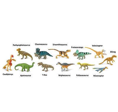 AMNH Feathered Dinos Toob # 681904 ~ FREE SHIP/USA w/$25+ Safari, Ltd. Products