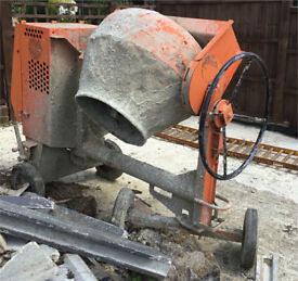 110 Site cement mixer. £600.