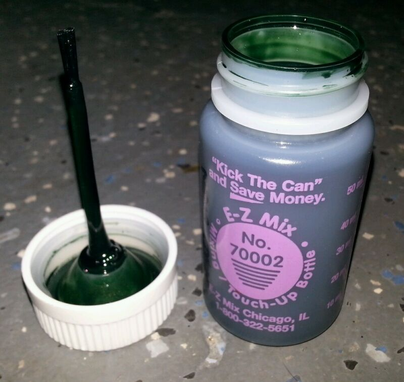TOUCH UP PAINT FOR CHRYSLER COLOR CODE SPJ ISLAND TEAL... 1 oz. size