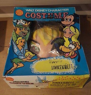 Vintage Ben Cooper Inc. Walt Disney Character Costume Tinkerbell