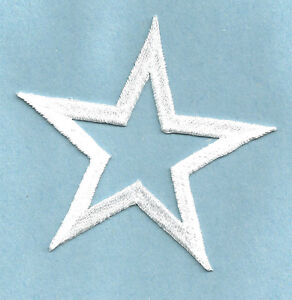 SET-OF-FOUR-4-STARS-OPEN-2-5-8-034-WHITE-EMBROIDERED-IRON-ON-PATCHES