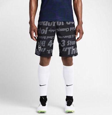 388c6864ac NWT Nike NikeLab F.C. Real Bristol V Warm Up Shorts Black Grey Medium  716130 010