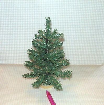 """The BEST Cheap 5 3/8"""" Tall Christmas Tree:  DOLLHOUSE Miniatures 1/12 Scale"""