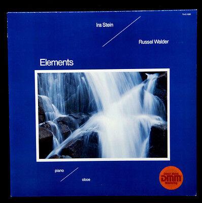 "IRA STEIN / RUSSEL WALDER ---  "" ELEMENTS ""  -  NEAR MINT   -  1982"